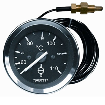 Relógio Mercúrio Temperatura Água - 60mm (TUR302414) - TUROT