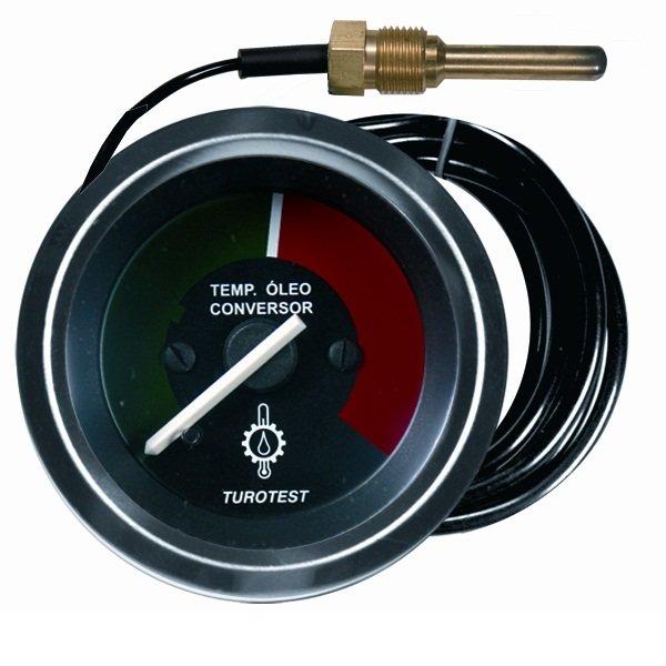 Relógio Mercúrio Temperatura - 52mm (TUR302425) - TUROTEST -