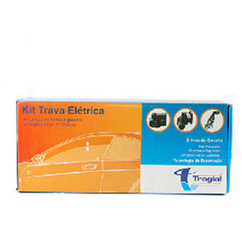 Kit Trava Elétrica GOL PARATI - 2 Portas (TW2G) - TRAGIAL -