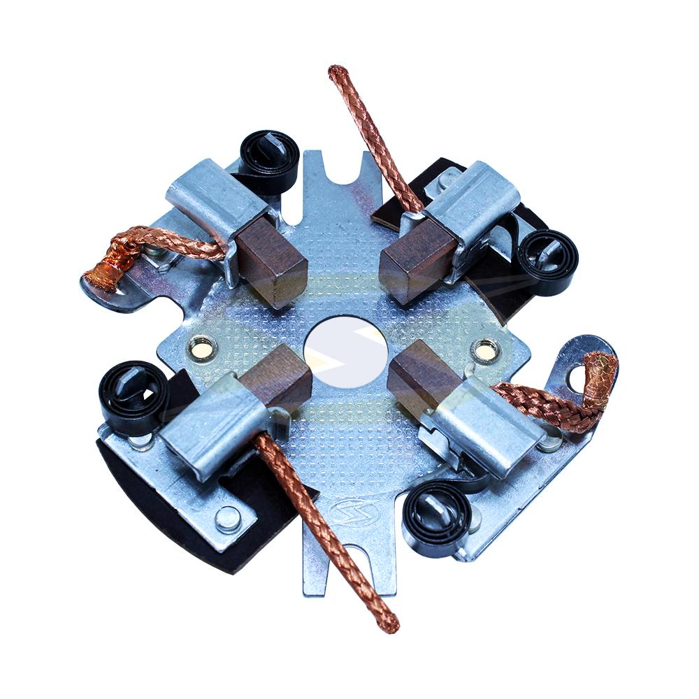 Porta Escova Motor de Partida Agrale Gm Fiat Ford Vw - Bosch