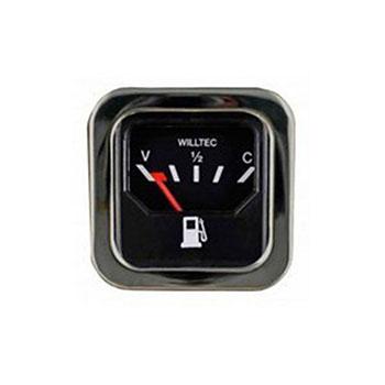 Relógio Combustível FUSCA 1976 até 1982 - Aro Cromado (W2390