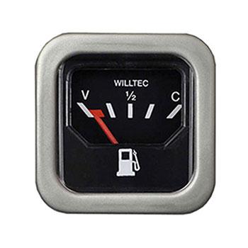 Relógio Combustível FUSCA - Aro Cinza (W23904) - WILLTEC - P