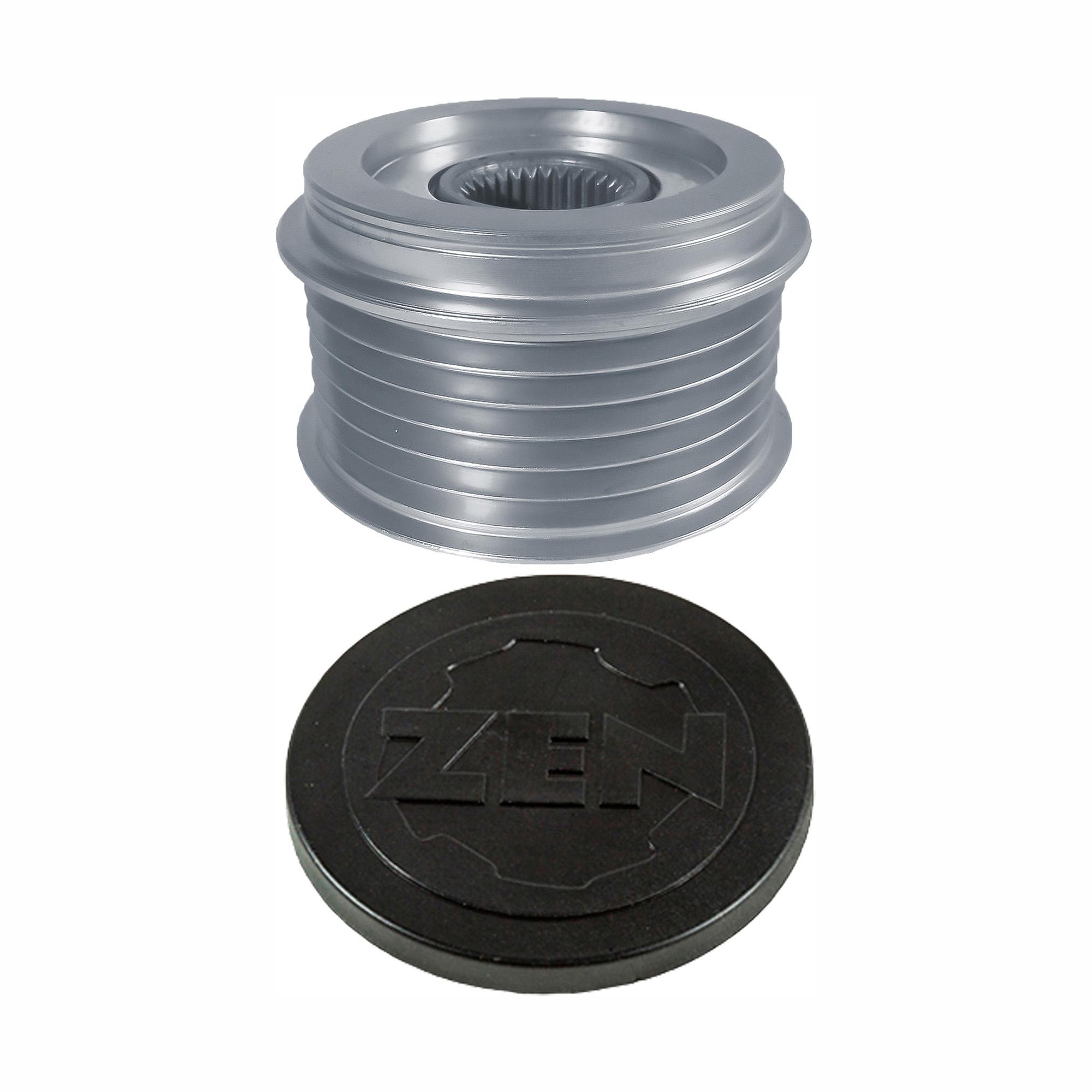 Polia Alternador Roda Livre Audi Touareg (zen5595) - Zen - Peça - Sku: 24866 A4 / A8 / A6 / TOUAREG / A5 / A7 / Q5 / Q7
