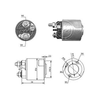 Automático Motor de Partida CORSA CELTA CLIO SCENIC - Partid