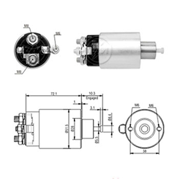 Automático Motor de Partida FUSION OMEGA SILVERADO - Sistema