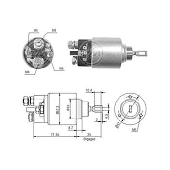 Automático Motor de Partida BMW - Partida Sistema BOSCH (ZM3