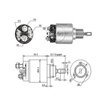 Automático Motor de Partida BMW MBB VOLVO - Partida Sistema