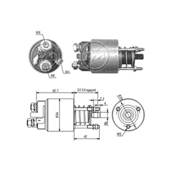 Automático Motor de Partida ASTRA CORSA MERIVA - Partida Sis